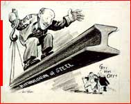 Political Cartoon of Clement Atlee