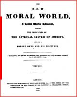 The New Moral World, a London weekly publication