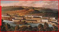 Robert Owen's factory at New Lanark, Scotland, Library of Congress