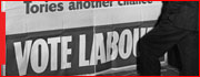 British Labour Party Campaign poster, 1945, National Museum of Labor History