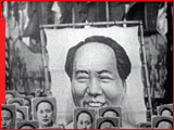Parade with posters of Mao Zedong, National Archives